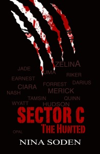 Sector C The Hunted - Front Cover