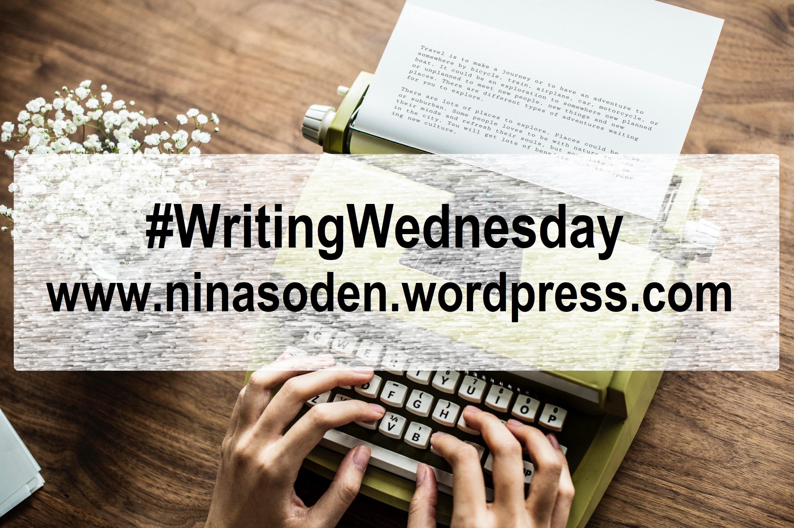 Writing Wednesday 4